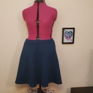 Torrid Turqoise Skirt
